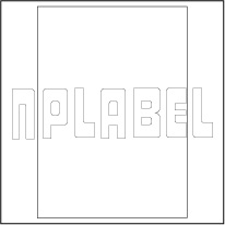 GU1000 Multipurpose Plain Stickers Sheet