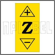 140238 CNC Z Axis Direction Indication Labels