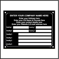 141828 Data Name Plate