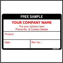 142045 Free Sample Stickers
