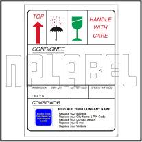 152050 Customize Dispatch Sticker