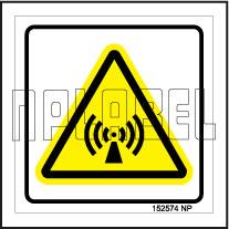 152574 Volume Signs Sticker