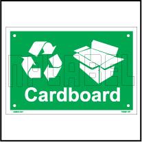 153621 Carboard Waste Dustbin Label