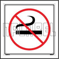 160005 No Smoking Sign Name Plate