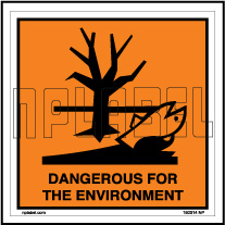 160014 DANGEROUS Signs Stickers