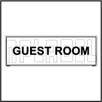 160124 GUEST Room Name Plates