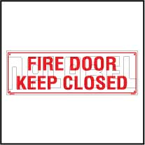160151 Fire Safety - Fire Door Keep Close