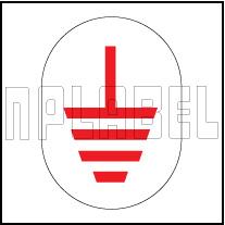 162564 Earthing Metal Labels