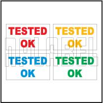 162575 Tested OK Sticker