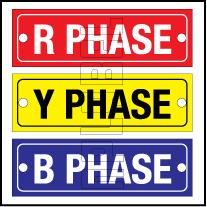 162602 R Y B Phase Labels (SET)