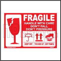 201492 Fragile Shipping Stickers