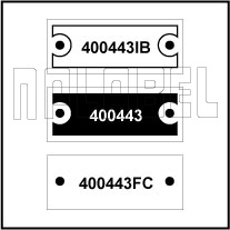 400443 - Control Panel Labels Size 30 x 12mm