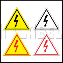 420024 Electrical Mains Sign Label