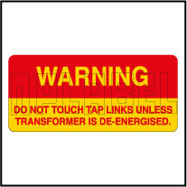 420031 Danger - Do Not Touch Labels & Stickers