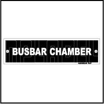 420524V Busbar Chamber Panel Sticker