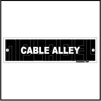 420525 Cable Alley Panel Sticker
