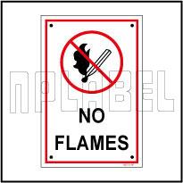 582721ML No Flames Name Plates