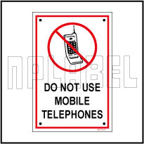 582726 Do Not Use Mobile Instructions Name Plate