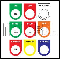 590813 Push Button Labels