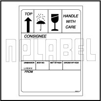 591640 Laser Printable Shipping Stickers