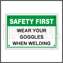 591901ML Wear Goggles Name Plates