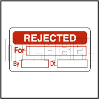 820379 QC Sticker - Rejected