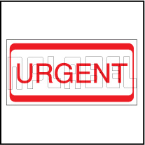 820452 URGENT Office Stationery Sticker