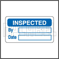 830185 Inspected Sticker Labels