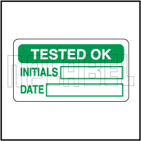 830354 Tested Ok Stickers & Labels