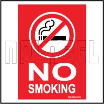 CD1945 No Smoking Signages