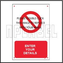Caution Label Templet Caution 005