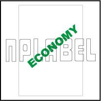 EC1000 Multipurpose A4 Plain Stickers Sheet
