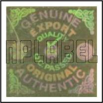 HG0003 OK Genuine Hologram Sticker