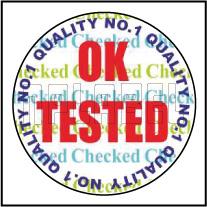 HG0004 OK Tested Hologram Sticker