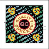 HG0009 Quality Checked Hologram Sticker