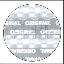 HG0013 Genuine Hologram Sticker