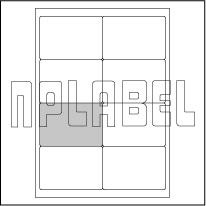 GU2008 Multipurpose Address Labels - A4 Sheets