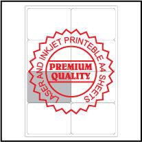 IL2008 Multipurpose Address Labels - A4 Sheets