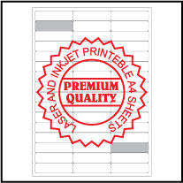 IL3024 Multipurpose Address Sticker A4 Sheets