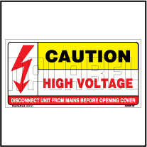 K20483 Caution Labels for High Voltage Labels