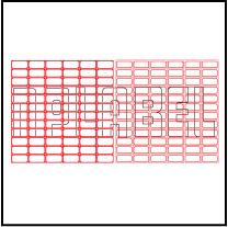 ML2512 General Purpose Sticker Size 25x12.5mm
