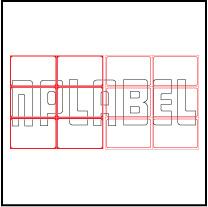 ML7550 General Purpose Sticker Size 75x50mm