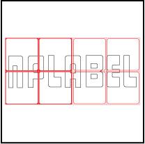 ML7575 General Purpose Sticker Size 75x75mm