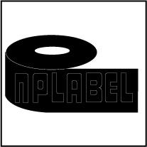 BCR100W - Black Wax Ribbons - 100 Mtr. Length