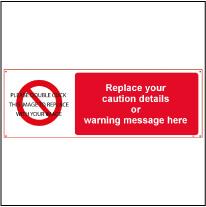 Caution Label Template Caution 009